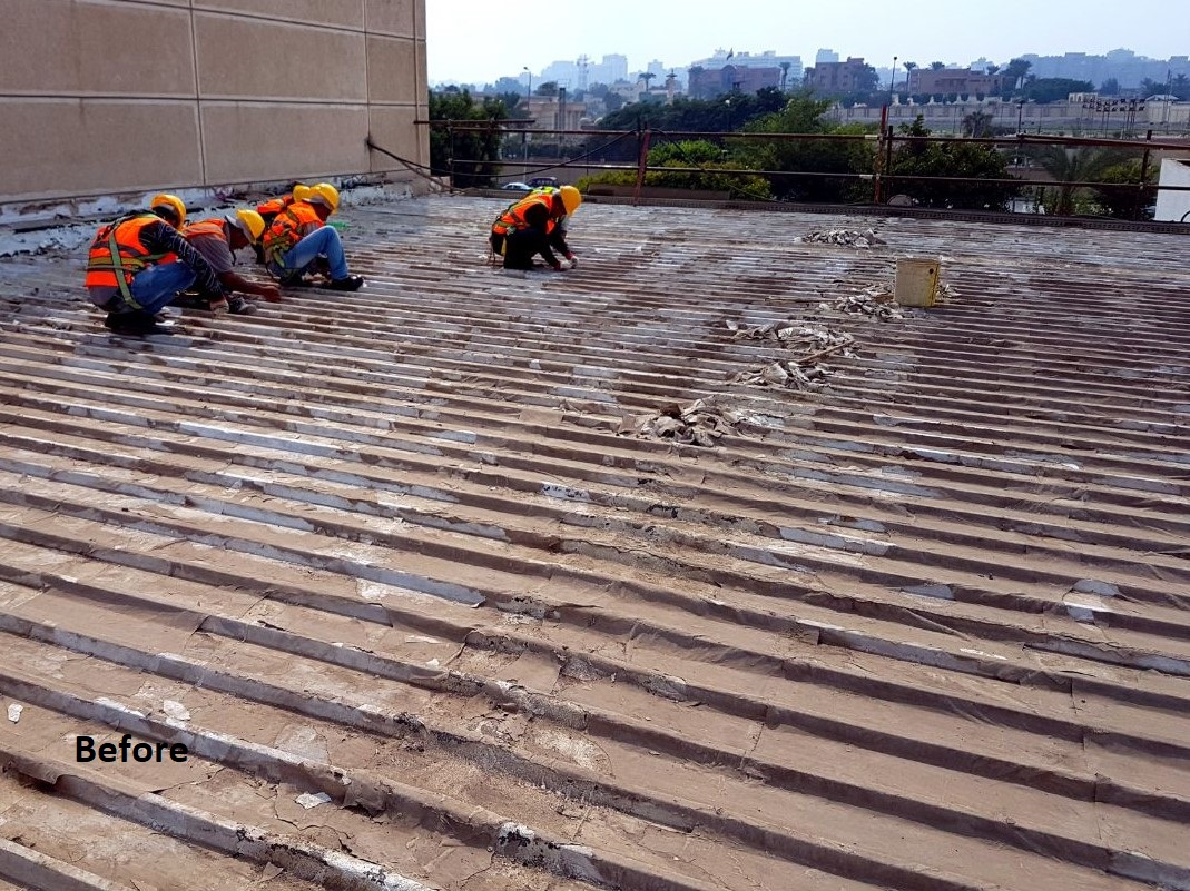 modern technique  waterproofing